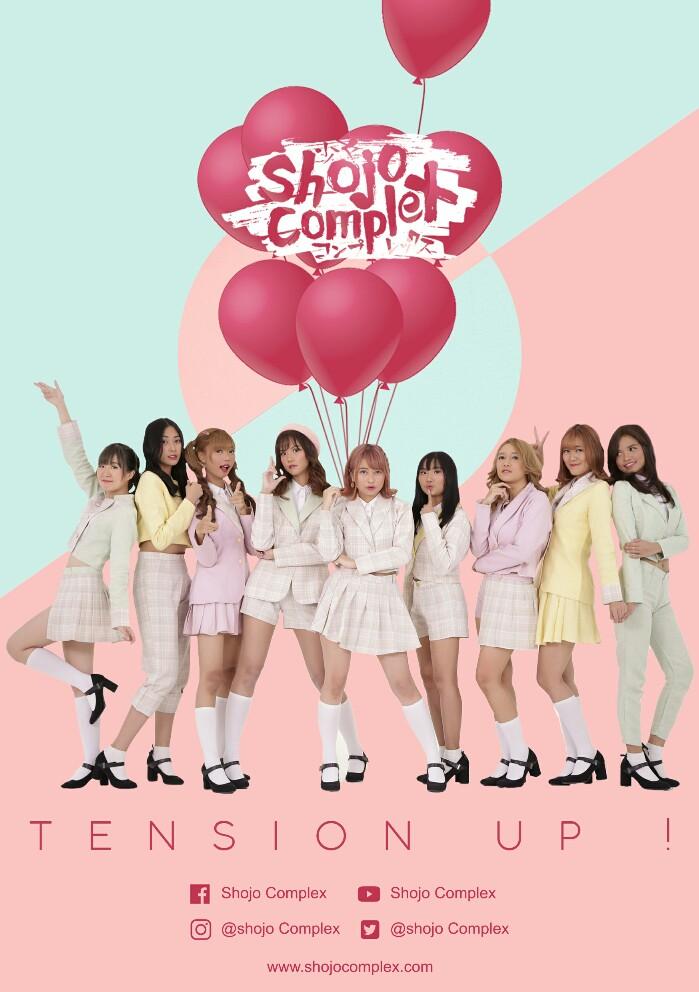 Digtal Poster Shojo Complex - Tension Up!-699x992