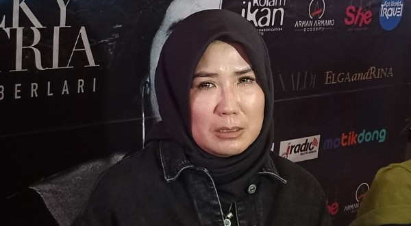 Nicky Astria Siap Menghibur di Konser Tunggal 'Terus Berlari'