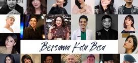 "Single ""Bersama Kita Bisa"", Rieka Roslan & Dr Yongki Ajak Kita Tetap Semangat"