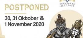 Prambanan Jazz Festival #6 Akan Digelar 30, 31 Oktober & 1 November 2020
