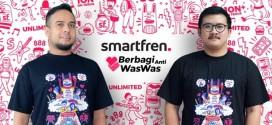 Smartfren Kembali Galang Donasi Lewat  T-Shirt dan Masker Limited Edition